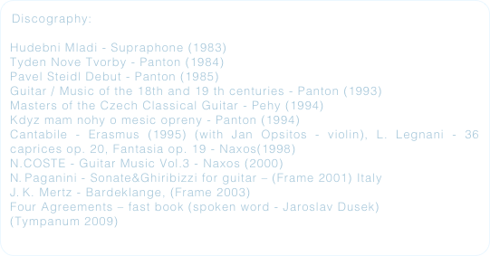 Discography: